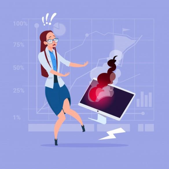 mujer-negocios-que-tiene-problema-trabajando-computadora-rota_48369-1006